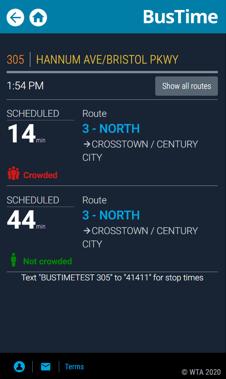 RTPI BusTime Capacity Management