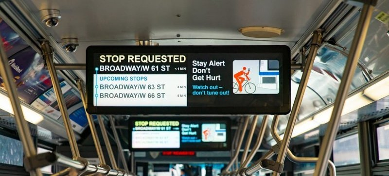 How Onboard Digital Signage Can Help Transit Agencies Improve Perceptions and Enhance the Rider Experience